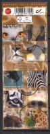 YT N° 4320 à 4329 - Oblitéré -  Animaux (carnet Non Plié) - Oblitérés