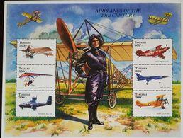 O) 1971 TANZANIA, HARRIET QUIMBY FIRST WOMAN AVIATOR, AIRPLANES FROM 1906 . MNH - Tanzania (1964-...)