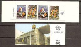 1989 / 1990 EUROPA CEPT EUROPE - Grecia Greece 2 Libretti Di 4v. MNH** 2 Booklets - Europa-CEPT