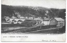 CHANXHE (4140) La Gare Et Le Pont - Sprimont