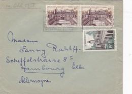ENVELOPE CIRCULEE FRANCE TO GERMANY YEAR 1959- BLEUP - France