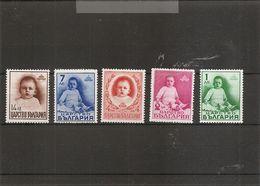 Bulgarie ( 319/323 XXX -MNH) - 1909-45 Kingdom