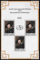 Belgium SG MS2498 1977 Rubens (3rd Issue) Miniature Sheet Unmounted Mint [38/31278/6D] - Blocks & Sheetlets 1962-....