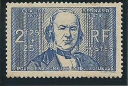 FRANCE: *, N°439, 1ère Ch., Légères Rousseurs Sur Gomme, TB - Unused Stamps