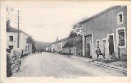 55 - MENIL Aux BOIS : Une Rue à Déterminer ... CPA Village ( 50 Habitants ) Meuse - Francia