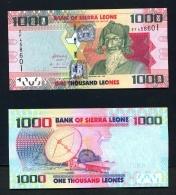 SIERRA LEONE  -  4th August 2013  1000 Leones  Uncirculated Banknote As Scan - Sierra Leone