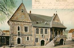 43264365 Goslar Rathaus Suedseite Treppe Goslar - Goslar