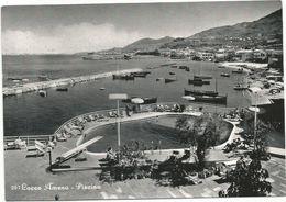 X3906 Isola D'Ischia (Napoli) - Lacco Ameno - Piscina - Panorama / Viaggiata 1959 - Andere Steden