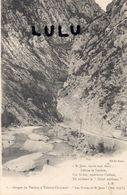 DEPT 04 : Cliché Blanc N° 1 Les Gorges Du Verdon A Taloire Chasteuil Les Portes Saint Jean Rattaché A Castellane En 1973 - Francia