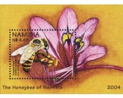 Ref. 172619 * MNH * - NAMIBIA. 2004. BEES . ABEJAS - Namibie (1990- ...)