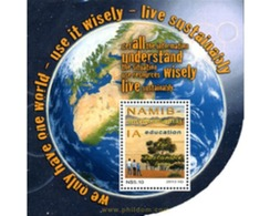 Ref. 307902 * MNH * - NAMIBIA. 2013. ENVIRONMENT . MEDIO AMBIENTE - Namibie (1990- ...)