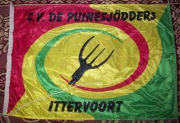 C.V. De Puinesjödders Carnival Flag (Netherlands) - Carnaval