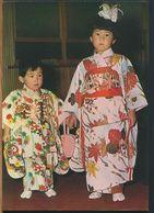 °°° 11332 - JAPAN & KOREA  - CHILDREN DRESSED IN KIMONOS °°° - Corea Del Sud