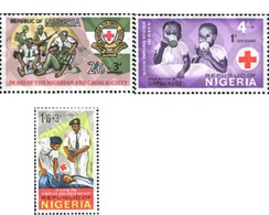 Ref. 348040 * MNH * - NIGERIA. 1966. CRUZ ROJA NIGERIANA - Red Cross