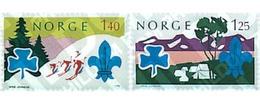 Ref. 38630 * MNH * - NORWAY. 1975. WORLD JAMBOREE IN LILLEHAMMER . JAMBOREE MUNDIAL EN LILLEHAMMER - Unclassified