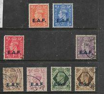 British Occupation Of Italian Colonies, 1943, E.A.F. (Somalia) 1d, 3d - 1/= MH *, 2, 2 1/2 Used - Somalia