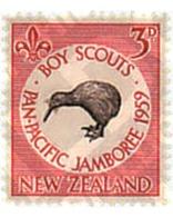 Ref. 38351 * MNH * - NEW ZEALAND. 1959. PAN-PACIFIC JAMBOREE OF AUCKLAND . JAMBOREE PAN-PACIFICO DE AUCKLAND - Ungebraucht