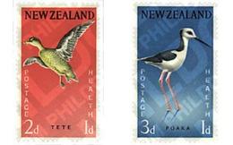 Ref. 36878 * MNH * - NEW ZEALAND. 1959. SURCHARGE IN AID OF HEALTH AND INFANCY . SOBRETASA POR LA SANIDAD Y LA INFANCIA - Ungebraucht