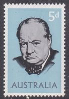 Australia ASC 411h 1965 Churchill, Helecon Paper, Mint Never Hinged - Proofs & Reprints
