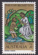 Australia ASC 554a 1973 7c Christmas Perf 14.75, Mint Never Hinged - Proofs & Reprints