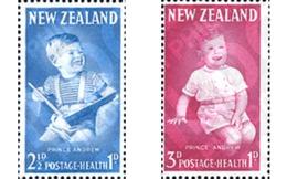 Ref. 134481 * MNH * - NEW ZEALAND. 1963. SURCHARGE IN AID OF HEALTH AND INFANCY . SOBRETASA POR LA SANIDAD Y LA INFANCIA - Familles Royales