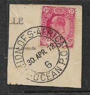 S.Africa , UNION OF SOUTH AFRICA - OCEAN P.O. - 6 -. 30 APR 12 C.d.s - Zuid-Afrika (...-1961)