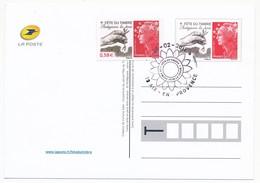 Entier Postal - Fête Du Timbre AIX-EN-PROVENCE 2011 - Protégeons La Terre (Beaujard) - 26.2.2011 - Lettres & Documents