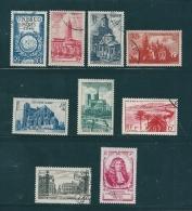 France Timbres De 1946/47  N°771 A  779   Oblitérés - France