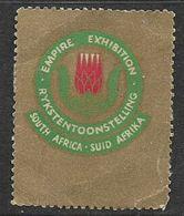 S.Africa , 1925 British Empire Exhibition Poster Stamp - Zuid-Afrika (...-1961)