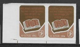 """S.Africa , 1984, """"BIBLIA"""" Promotional Labels, MNH ** - South Africa (1961-...)"""