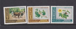Afghanistan SG 564-566 1966 Agricoltural Day MNH - Afghanistan