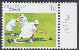 Australia ASC 1182 1989 Sports 1c Bowling Perf 13 X 13.5, Mint Never Hinged - Proofs & Reprints
