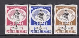 Afghanistan SG 567-569 1966 World Soccer Cup MNH - Afghanistan