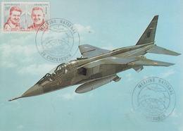 Carte   FRANCE   MEETING  NATIONAL   AERIEN    CHATEAUDUN    1985 - Militaria
