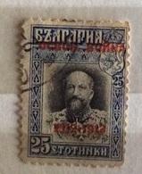 BULGARIA  1913  SERIE ORDINARIA 25 S. Soprastampato - 1879-08 Principato