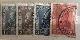BULGARIA  1918  30 Anniversario Di FERDINANDO I - 1879-08 Principato