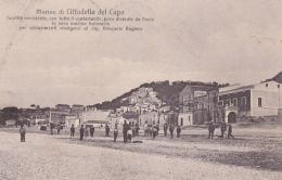 1917-Marina Di Cittadella Del Capo, Cosenza, Animata, Viaggiata - Cosenza
