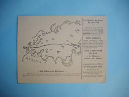 LE CHEMIN DE CROIX DE L'EUROPE   (  De Paris à Wladiwostok  )     -  Edition Ligue Internationale Des Mères  - - Guerre 1914-18