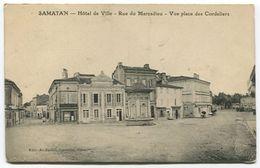 SAMATAN Rue Du Marcadieu Vue Place Des Cordeliers - Autres Communes