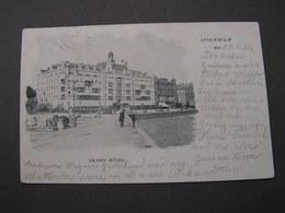 Schweden , Grand Hotel ..1906 - Schweden