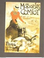 MOTOCYCLES COMIOT PARIS - Steinlen Riproduzione - CARTOLINA 1994 - Künstlerkarten