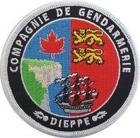 Patch COMPAGNIE DE GENDARMERIE DE DIEPPE - Police & Gendarmerie
