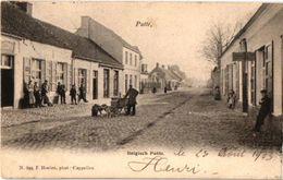 Belgisch Putte 1 CPA  C1903 Attelage De Chiens Hondenkar,  Transport Canine éd HOELEN 369 VENTER Straatverkoper TB - Putte