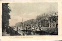 Cp 's-Hertogenbosch Den Bosch Nordbrabant Niederlande, Zuidwillemsvaart, Boote - Netherlands