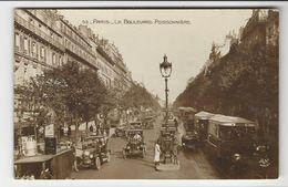 Paris * Le Boulevard Poissonnière - Francia