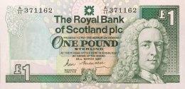 Scotland 1 Pound, P-346a (25.3.1987) - UNC - 1 Pound