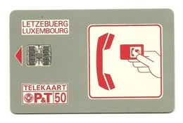 Lussemburgo - Tessera Telefonica Da 50 Units T541 - P&T- - Lussemburgo