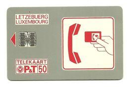 Lussemburgo - Tessera Telefonica Da 50 Units T541 - P&T- - Luxemburg