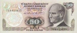 Turkey 50 Lirasi, P-188 (1976) - UNC - Türkei