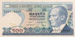 Turkey 500 Lirasi, P-195 (1983) - AU - Türkei